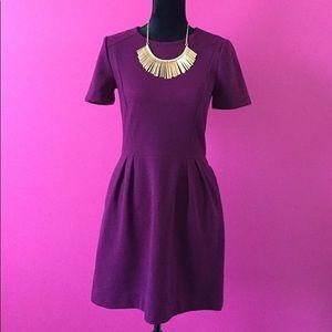 Wine Madewell 1927 Midi Dress